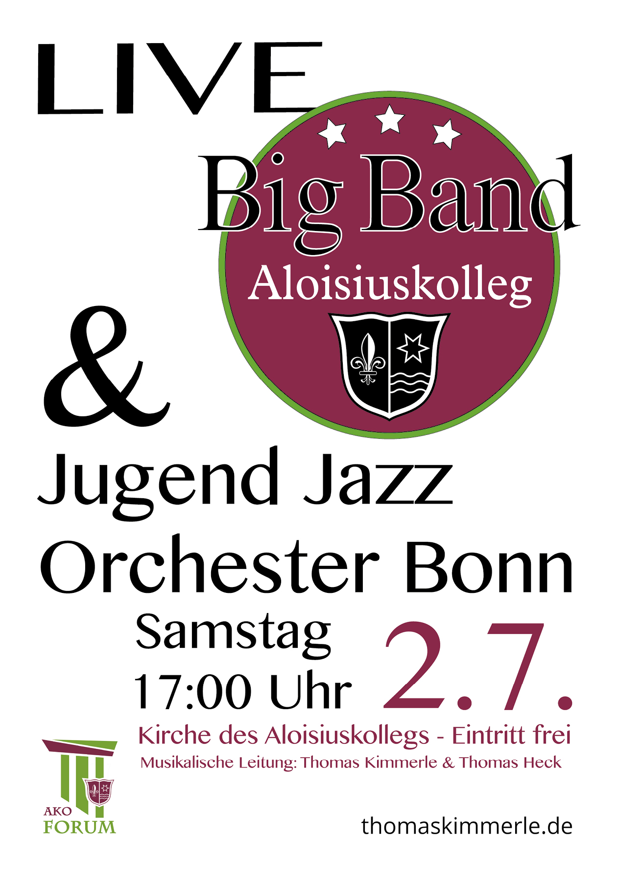 Big Band am Aloisiuskolleg - Bonn Bad Godesberg