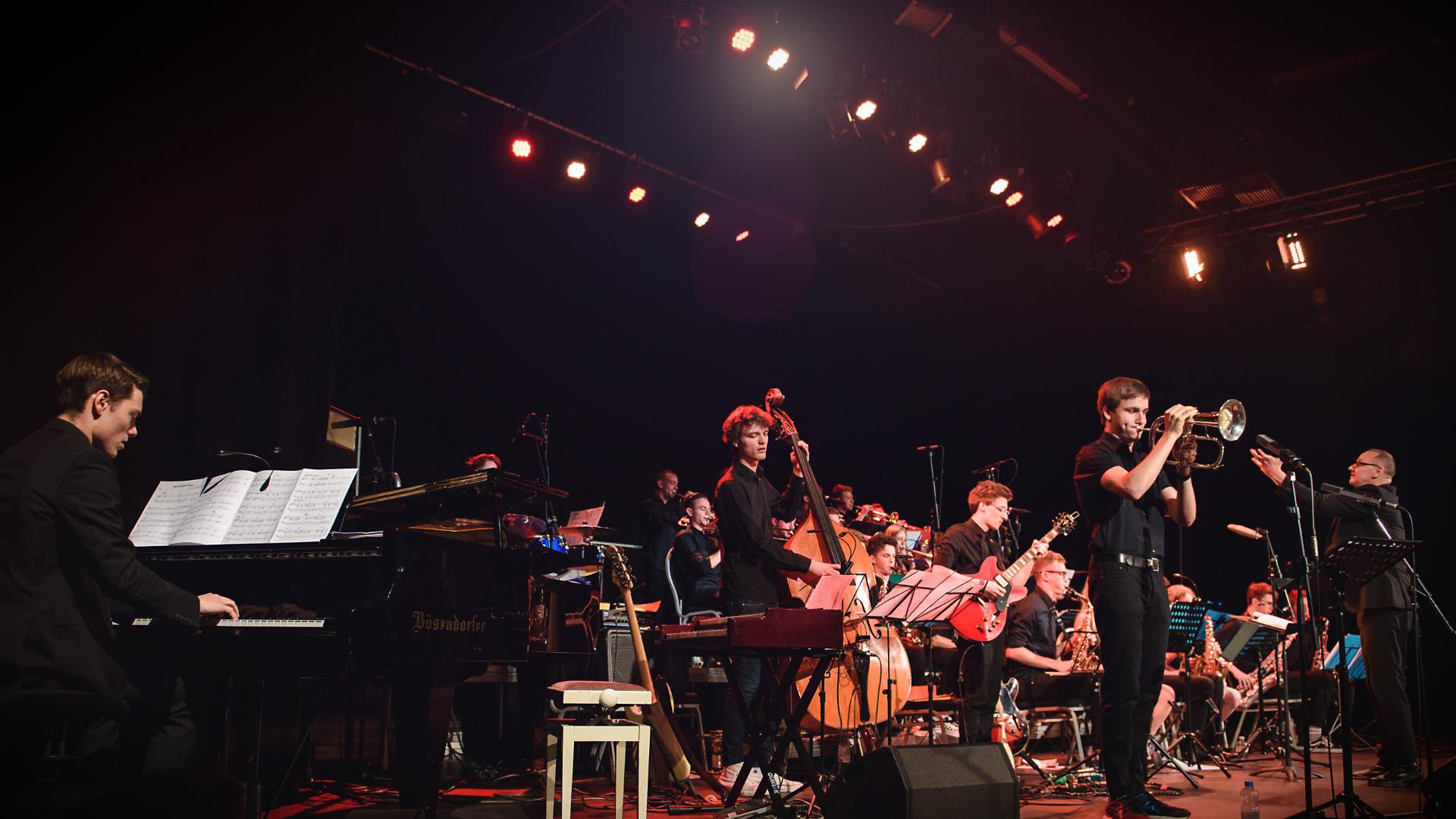 Jugend Jazz Orchester Bonn @ Pantheon Theater © Nadine Targiel 2018